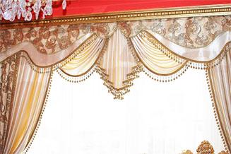 dekoracja okna Luiza