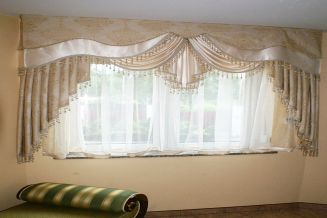 dekoracja okna Milo