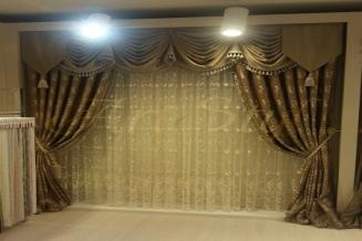 dekoracja okna rozalina