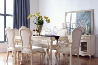 Ekskluzywny stół z krzesłami ZY-45