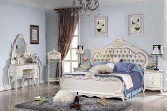 stylowe łóżko L8009
